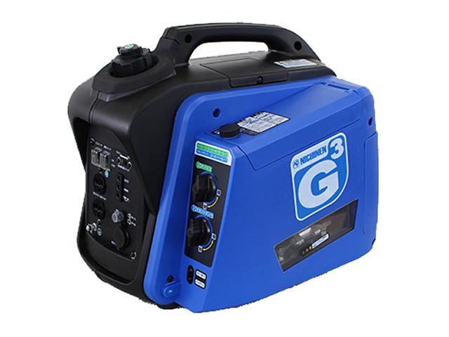 ニチネン☆携帯発電機 ジーキュービック(G-cubic)【北・東北・沖 除き送料無料】