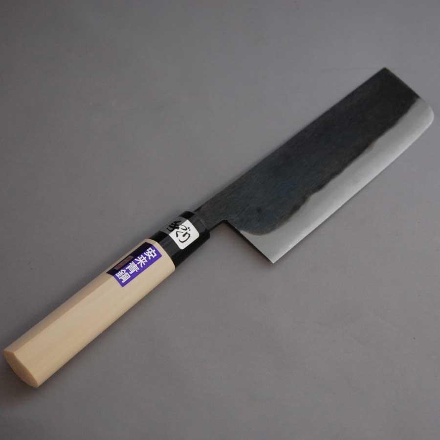 Blue Kitchen Knife: Aotetu: Blue Steel Kasumi, Ancient Kitchen Knife