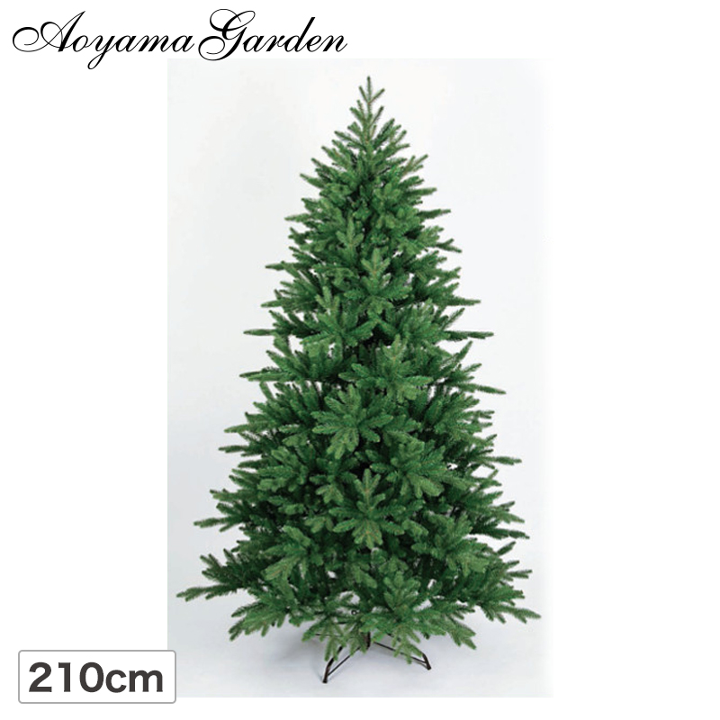 クリスマス ツリー 店舗 施設 イベント 人工植物 / ウッドランドツリー 210cm /B