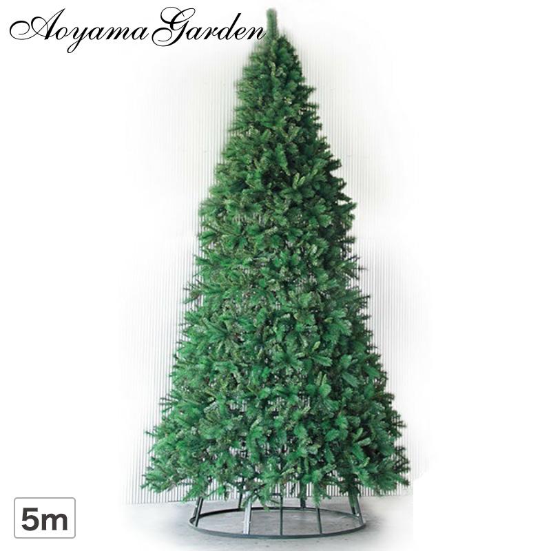 クリスマス ツリー 大型 店舗 施設 イベント 人工植物 / 大型 クリスマスツリー コーンタイプ 5m グリーン /D