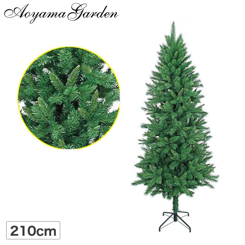 クリスマス ツリー 店舗 施設 イベント 人工植物 / ミックスツリー 210cm グリーン /B