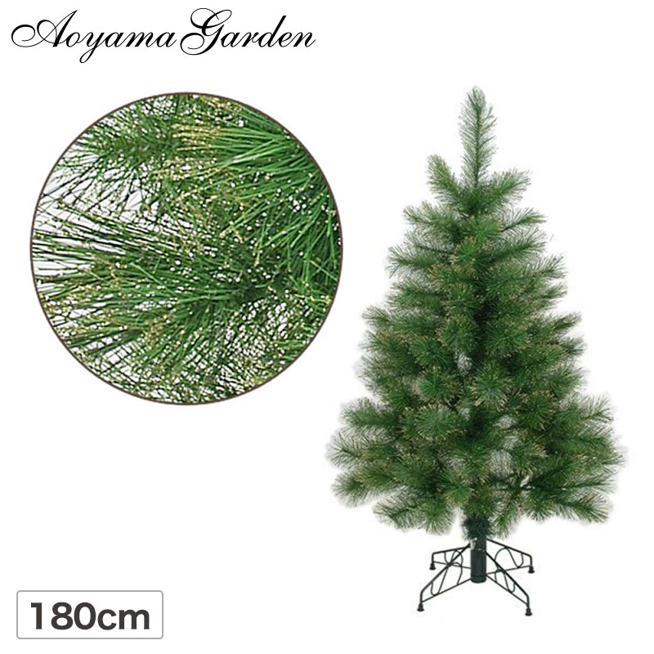 クリスマス ツリー ラメ 店舗 施設 イベント 人工植物 / グリッターパインツリー 180cm グリーンゴールド /B
