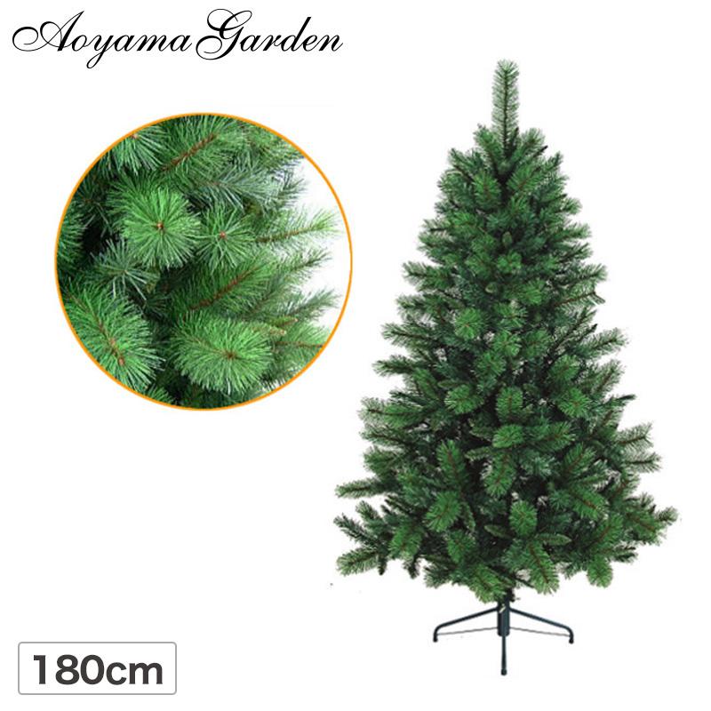 クリスマス ツリー 店舗 施設 イベント 人工植物 / ミックスパインツリー 180cm グリーン /B