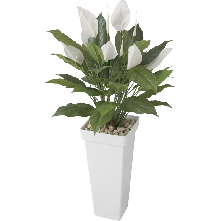 人工植物 造花 フェイク グリーン ディスプレイ 飾り タカショー 母の日 2019 / スパティフィラム 0.9m /A