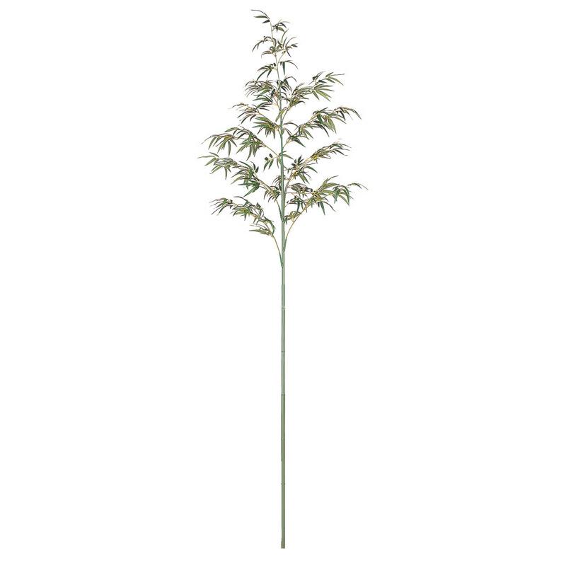 人工植物 造花 地鎮祭 青竹 フェイク グリーン タカショー / 地鎮祭用青竹 2.4m /B