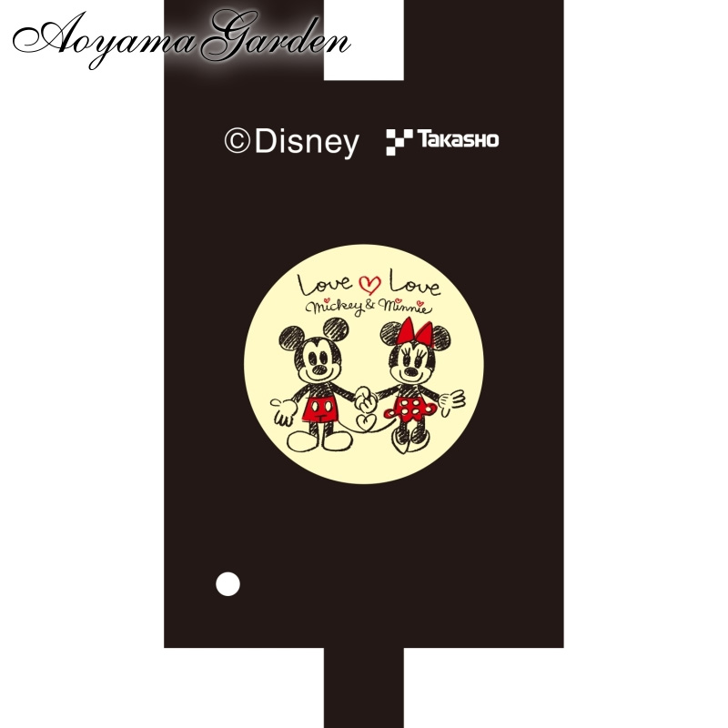 壁面に楽しい絵柄が浮かび上がる 同一デザインの3枚セット 入荷予定 ディズニー お得クーポン発行中 Disneyzone タカショー ガーデンプロジェクター用フィルム A Love mickeyminnie
