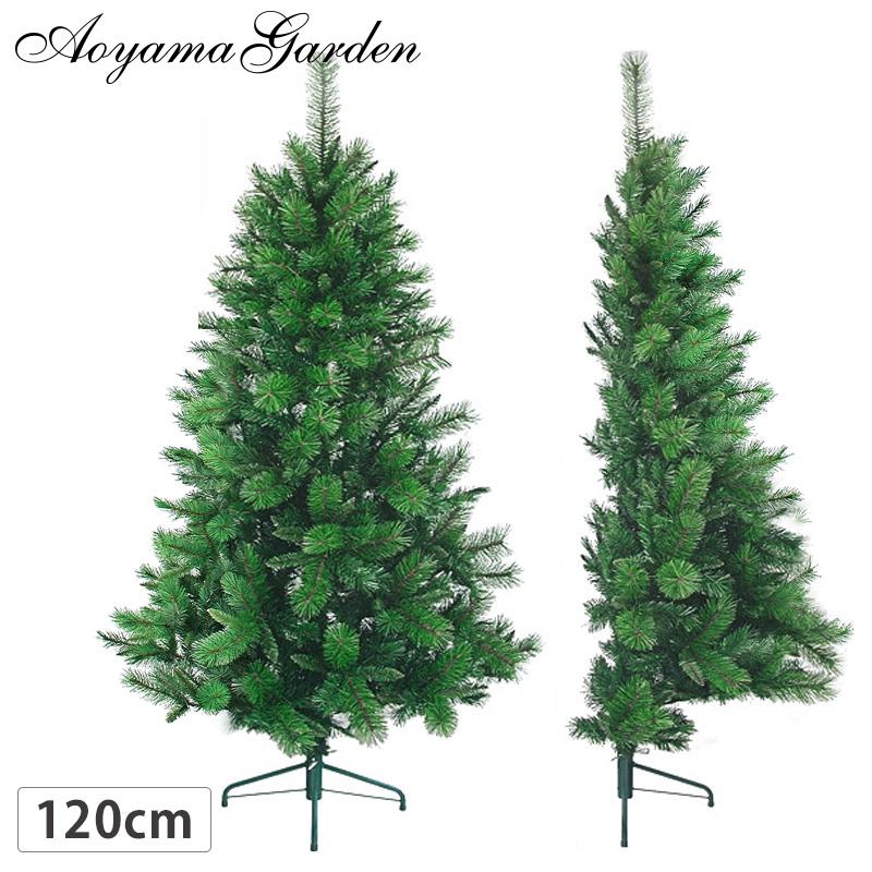 クリスマス ツリー 店舗 施設 イベント 人工植物 / ハーフ・ミックスパインツリー 120cm グリーン /A