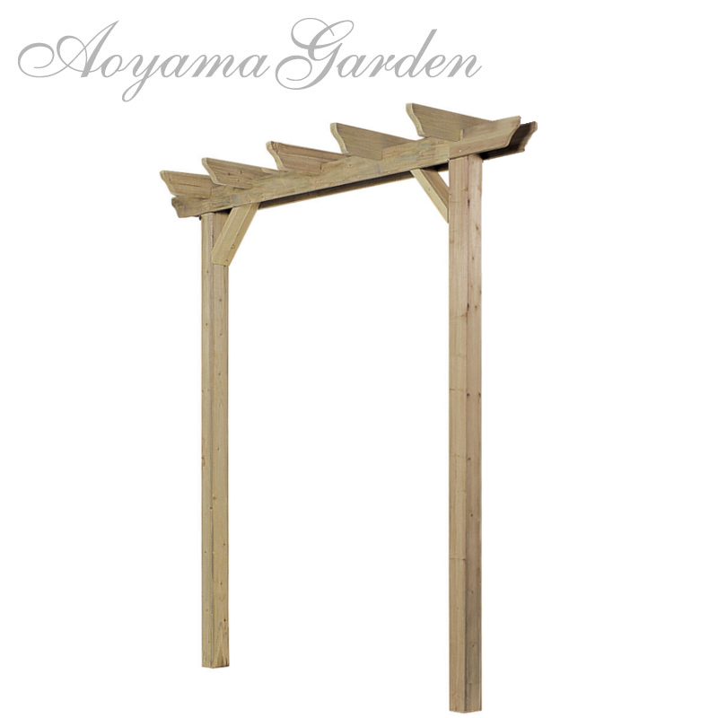 e-wood single Pergola base type.