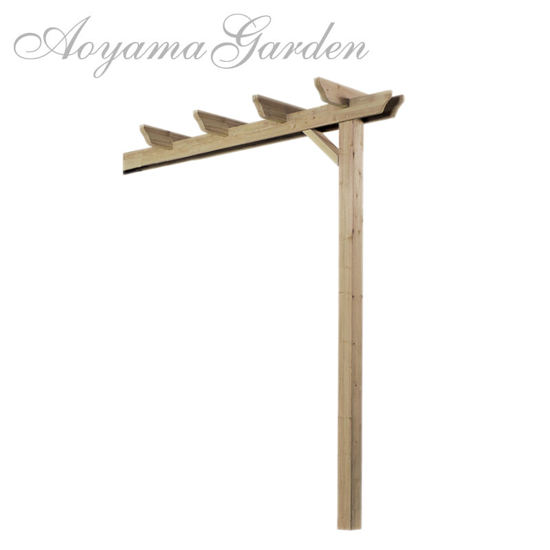 "e- Wood single pergola open-end investment trust - Aoyama: S Garden Arch.""e-wood Single Pergolas Add Type"