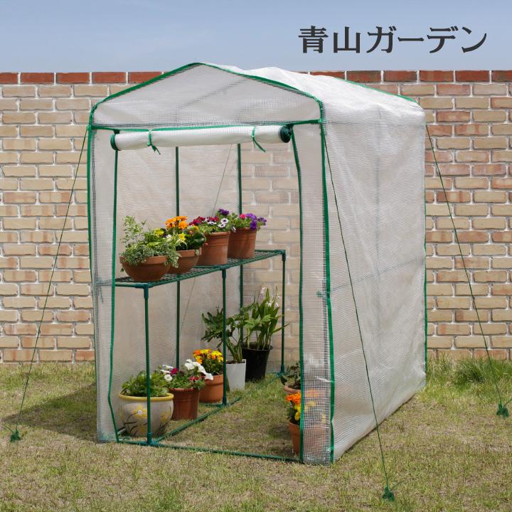 大切な鉢植えを冬の寒さから守ります 温室 ビニールハウス 大型 育苗 寒冷 霜 タカショー 菜園 ビニール温室 特大 激安 激安特価 送料無料 B お得セット 自転車