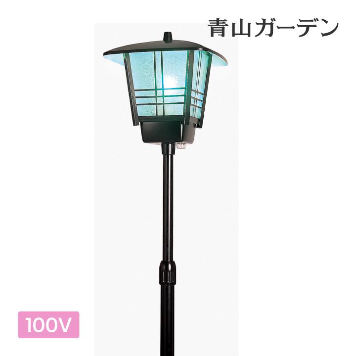 ライト 和風 庭園灯 LED 照明 庭 玄関 ガーデン タカショー / 庭園灯(スタンド型46)LEDタイプ /A