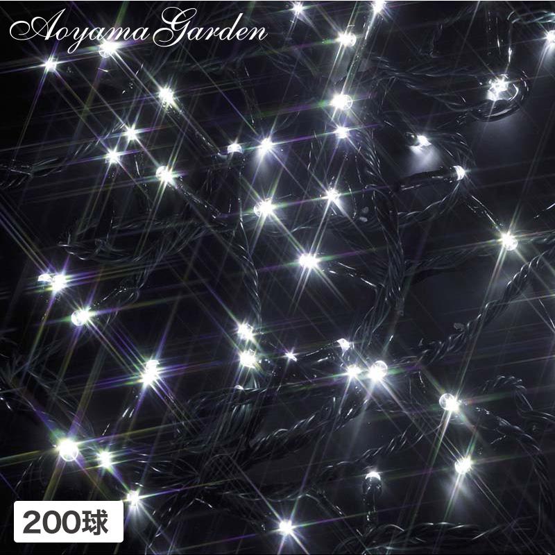 イルミ LED ライト 屋外 クリスマス 電飾 タカショー 母の日 2019 / イルミネーション ストレート 200球 ホワイト /A