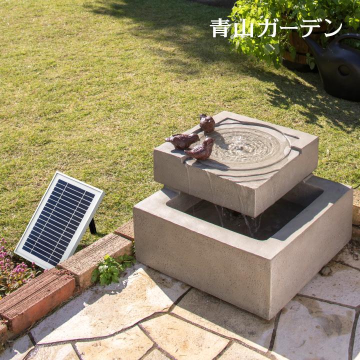 ソーラー式家庭用ファウンテン 噴水 ファウンテン ソーラー 鳥 バードバス 水 水音 庭 ガーデン タカショー / ソーラーファウンテン バードオアシス /A