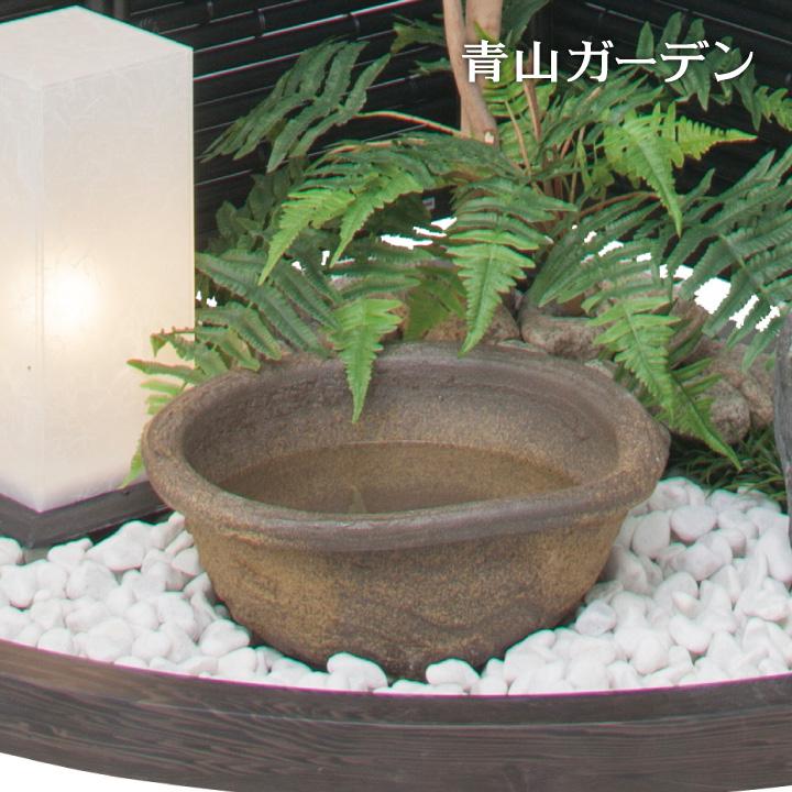 水鉢 和風 ウォーターガーデン 庭 水生植物 メダカ タカショー / 水鉢荒土 /A
