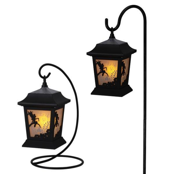 Silhouette Stories Solar Light Lantern Tinkerbell (flower / Garden /DIY /  Lights / Illumination And Solar Garden Light / Tinkerbell / Silent Light /  Solar ...