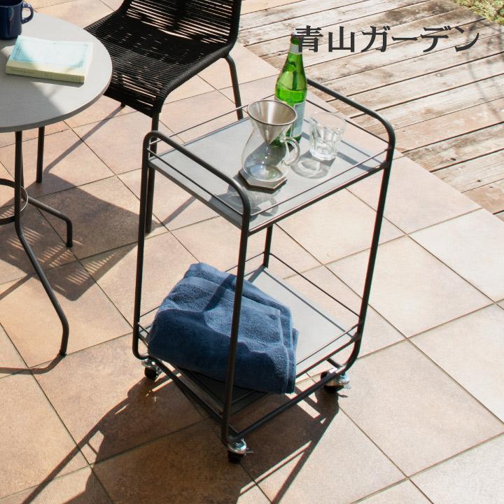 ワゴン テーブル 屋外 スチール ガーデン タカショー / チェスター クレーワゴン /A