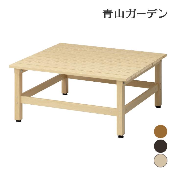 デッキ 縁台 木 ウッド アルミ 耐久性 ユニット 庭 ガーデン タカショー / 美WOOD デッキ 90×90 /B