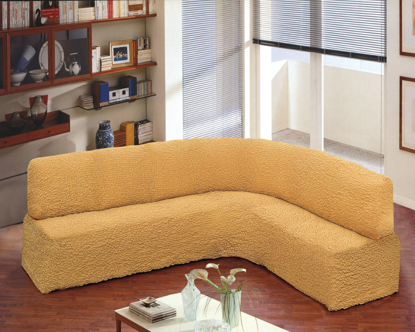 No Fit Sofa Cover Arms Made In Italy For Florence Corner Yellow Fs3gm