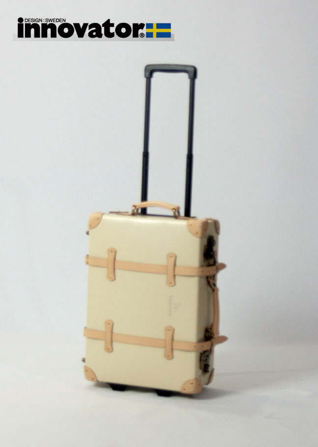 イノベーター innovator ヴィンテージトランク 50cm(ベージュ) スーツケース・キャリーバッグ(キャリーケース) 【2年保証】