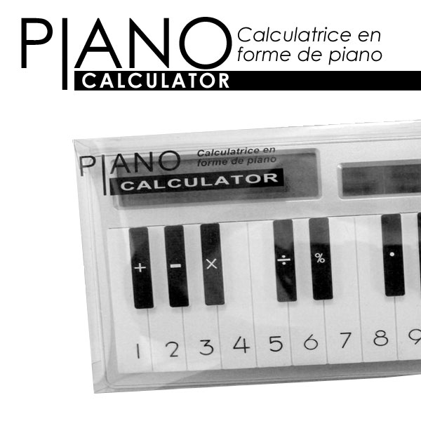 [made by humens] CALCULATOR PIANO piano type Calculator calculator (calculators) fs3gm