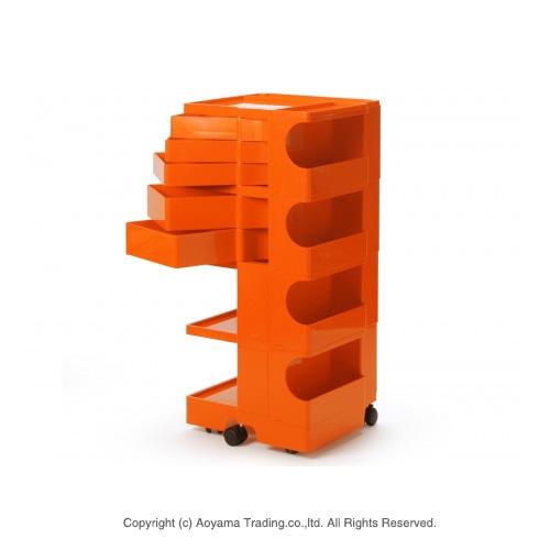 Bobby wagon 4-5 trays [orange] BOBY WAGON (4-5 tray) b-line (Beeline B LINE)