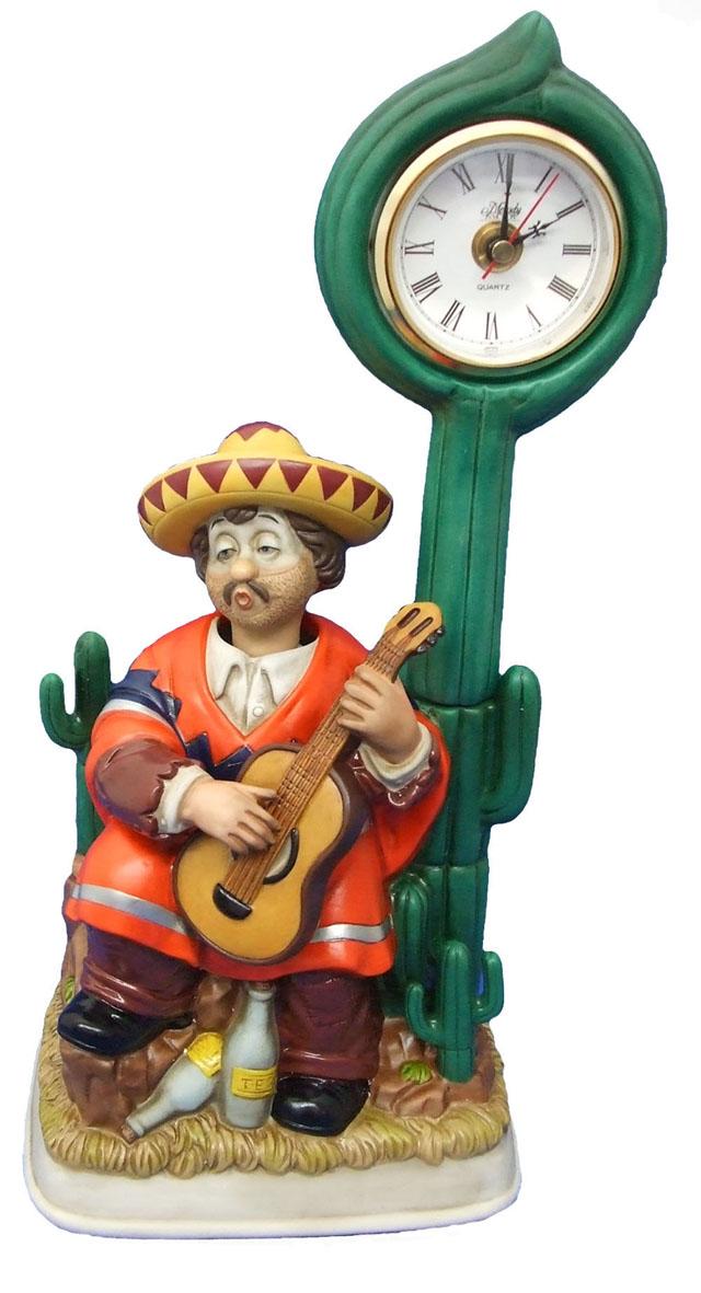 からくり時計クロックポストウィリー「メキシカン クロック」 送料無料