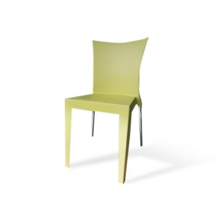 """Arrmet(アーメット)社チェアー""""JO""""(ジョー)[グリーン] イタリア製スタッキングチェア(椅子・いす)オフィス・ショップ・家庭用に  送料無料 イタリア家具 キャッシュレス5%ポイント還元"""