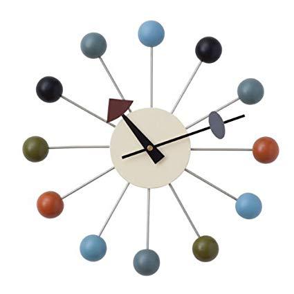 ジョージネルソンのデザインした掛時計 掛け時計 訳ありセール 格安 です ジョージネルソン ボールクロック 掛時計 GN397C 送料無料 ネルソンクロック 全品送料無料