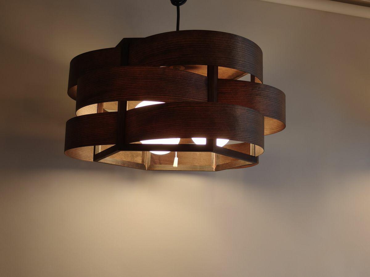 〔Flames〕木流 kiryuu キリュウ [ダークブラウン]  GDP-044DB 和風シーリングライト 木製 ランプ 照明