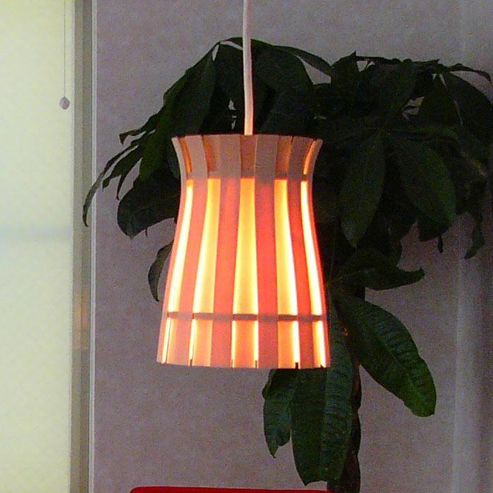 〔Flames〕フレイムスクラウン ペンダント DP-020 木 白木 フレイムス 間接照明  おしゃれ デザイナー照明 インテリア照明 ランプ キャッシュレス5%ポイント還元