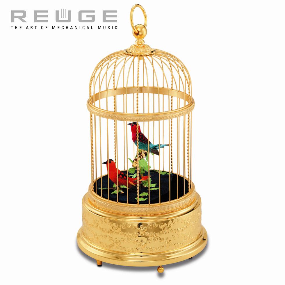 スイス・リュージュ REUGE オルゴール  「シンギング・バード」 AXT.90.7005.002