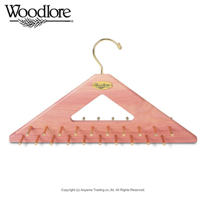 I exceed 10,000 sets by シダーネクタイハンガーウッドロア company wooden シダー tie & belt hanger set mail order! シダーウッド fs3gm with the effects such as dampproofing, deodorization, the insecticide