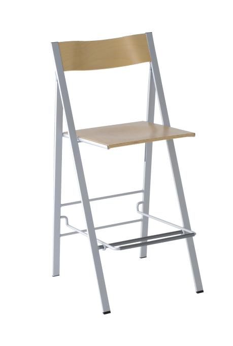 Chair U0026quot;Pocket Bar Stool Woodu0026quot; (beach