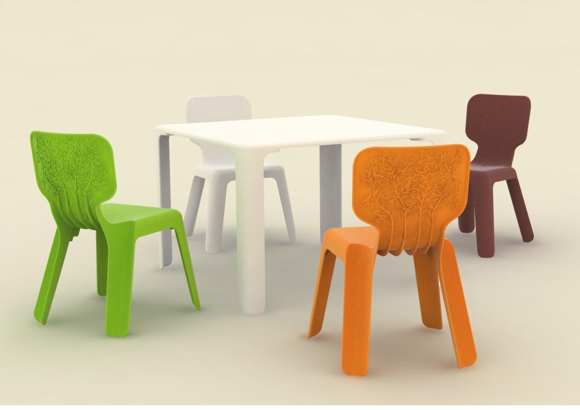 MAGIS ( Magis ) Alma (Alma) Kids Chair (white) Made In Italy, Chair (Chair)  Fs3gm