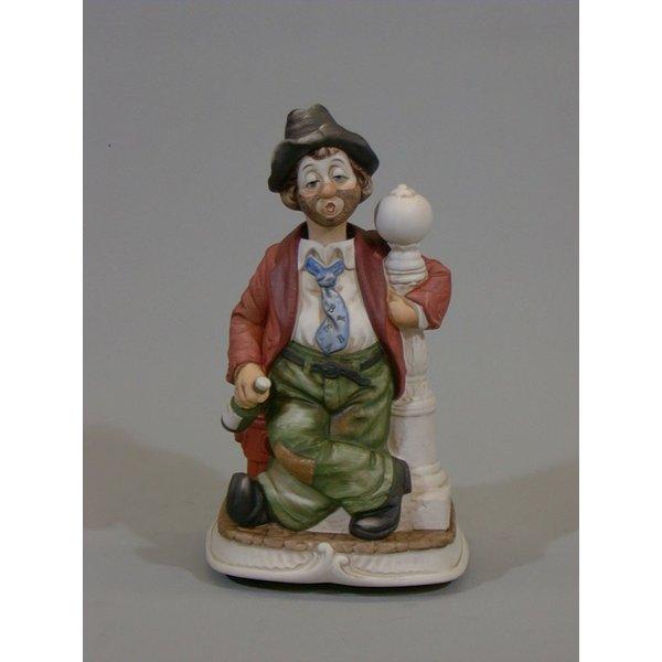 """アンティーク調のからくり人形です からくり人形""""ランプ 最新アイテム ポスト からくり人形 上等 送料無料 ウィリー"""""""