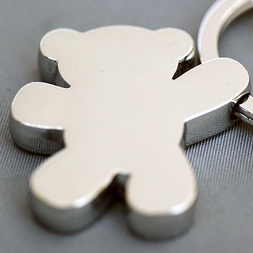 [3 점 구매 5% OFF 쿠폰] 독일 TROIKA (트로이카) 키 링 『 장난감 화이트 』 KR7-03/WH 열쇠 (자물쇠)의 수납에 세련 된 디자인의 독일 브랜드 열 쇠고리 (키 케이스) 테 디 베어