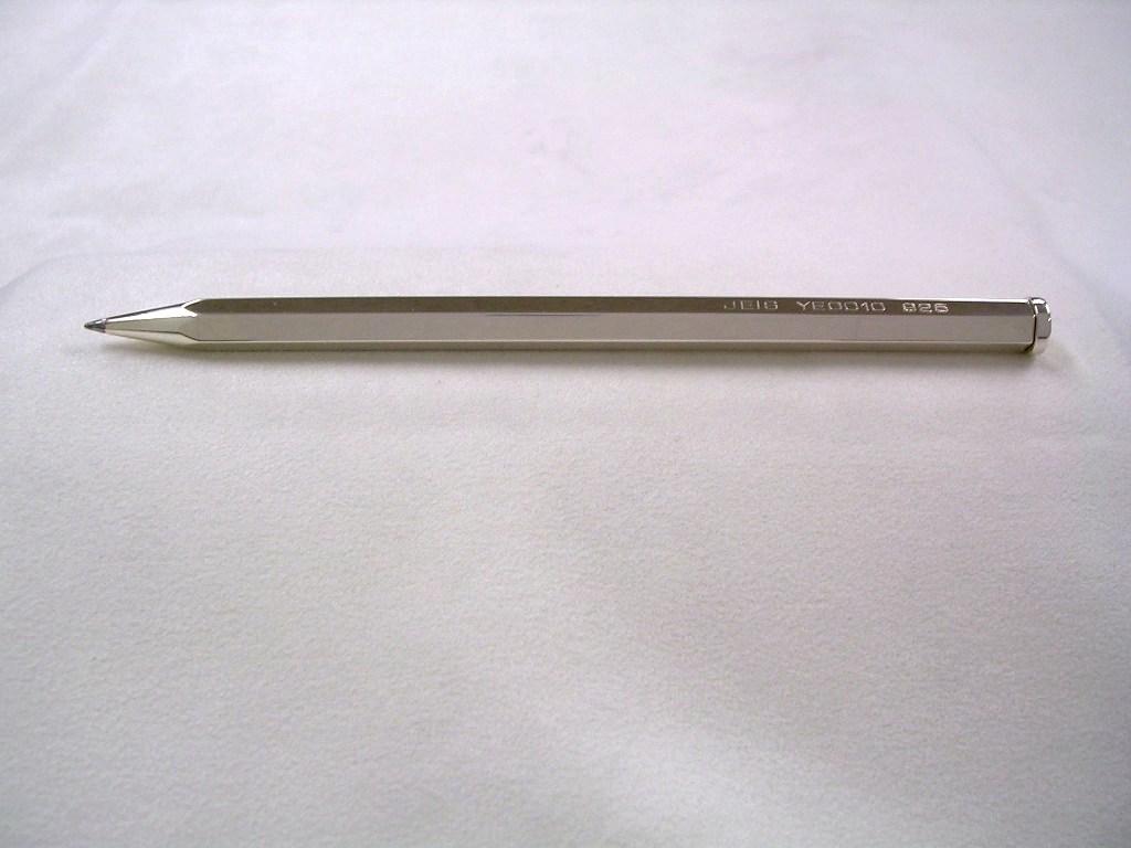 NEW!銀の手作りボールペンJEIS青山 日本製 シルバー 手作り 名入れ パイロット社製品対応 】 送料無料