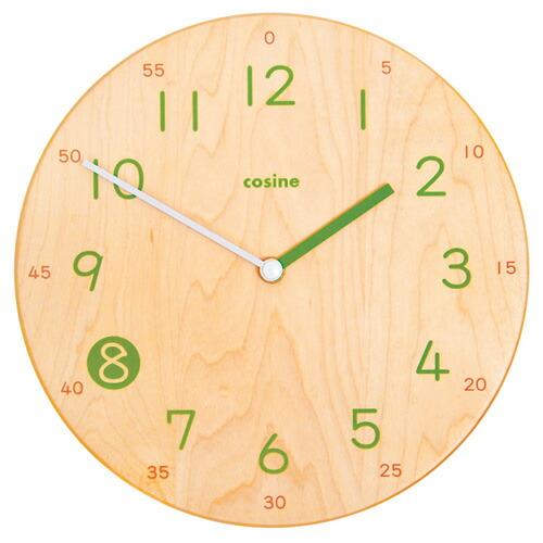 旭川家具で有名な家具の名産地 北海道 旭川のクラフト工房cosine 毎週更新 コサイン の 木製の掛け時計です 国産 日本製の掛け時計 送料無料 掛け時計 旭川家具 木製CW-14CM cosine 旭川のクラフト工房 子ども時計 当店は最高な サービスを提供します 子どもが読みやすい