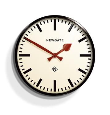 뉴 문 사 NEW GATE 시계 Putney Wall Clock 「 패 니 벽 시계 」 PUT390K 벽 걸이 시계 (시계)