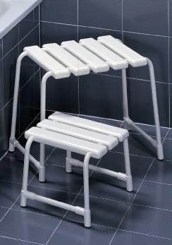 イタリア・プロベックス社シャワースツール(大)【バスチェア】【イス】【風呂】【浴室】 送料無料