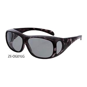《Zealot》コンフォートサングラス ZE-OG01LG ライトグレー