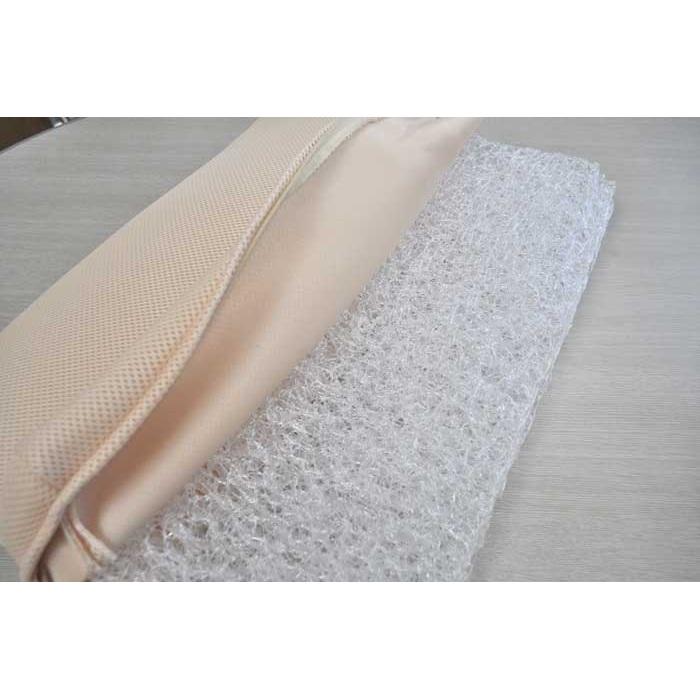 3次元極細繊維構造体使用高反発マクラ 専用カバー付き(プラスもう2枚)
