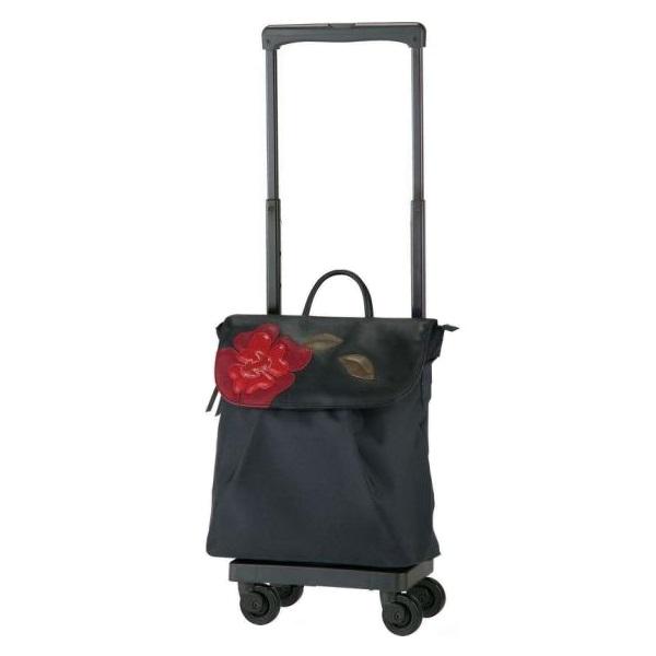 【ポイント10倍!!】SWANY スワニーバッグ(キャリーバッグ・ショッピングカート) D-326 ローゾ M18(A4収納サイズ)4輪ストッパー付
