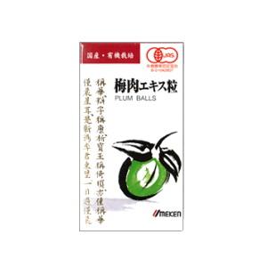 ウメケン有機梅肉エキス粒 90g(約600粒)12箱セット 送料無料【T8】