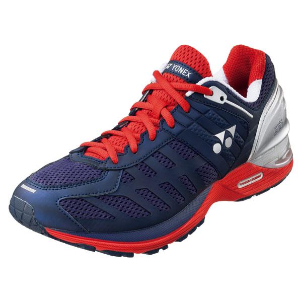 【送料無料】ヨネックス(YONEX)SAFERUIN 800 MEN(セーフラン800メン)SHR800M/097:ネイビー/レッド●ランニング・テニス(1507)