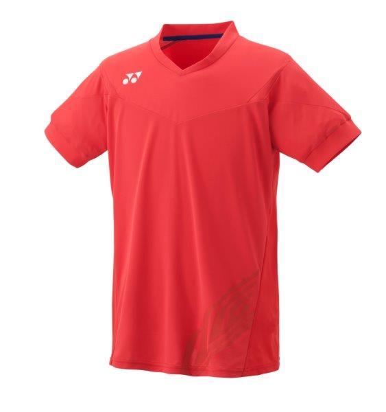 【ネコポスOK】【数量限定】ヨネックス(YONEX)ポロシャツ(10001LCW)212:ブライトレッド●テニス・バドミントン/ユニセックス半袖シャツ(1603)16ss【SS2006】【DEAL】【P50904】