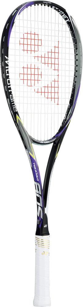ヨネックス(YONEX)ソフトテニスラケット(後衛用)/フレーム販売ネクシーガ80S(NEXIGA80S)【送料無料】ダークパープル(17FW)[NXG80S-240]