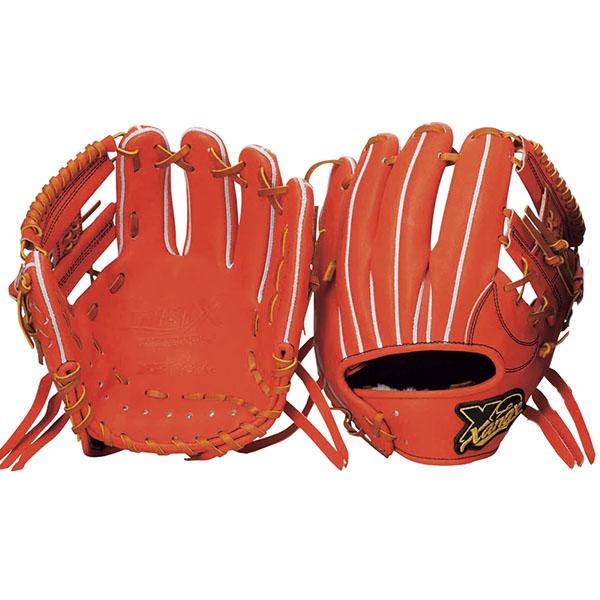 ザナックス(XANAX) トラストエックス 硬式 野球 グラブ(内野手用)(18ss) ブラック BHG-62418-90