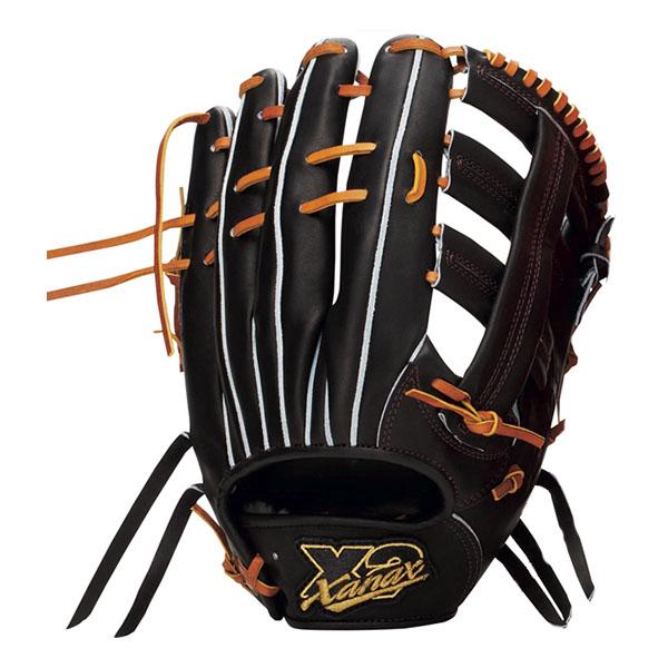 ザナックス(XANAX) トラストエックス 硬式 野球 グラブ(外野手用)(18ss) ブラック×タン BHG-72218 野球用品【P10】