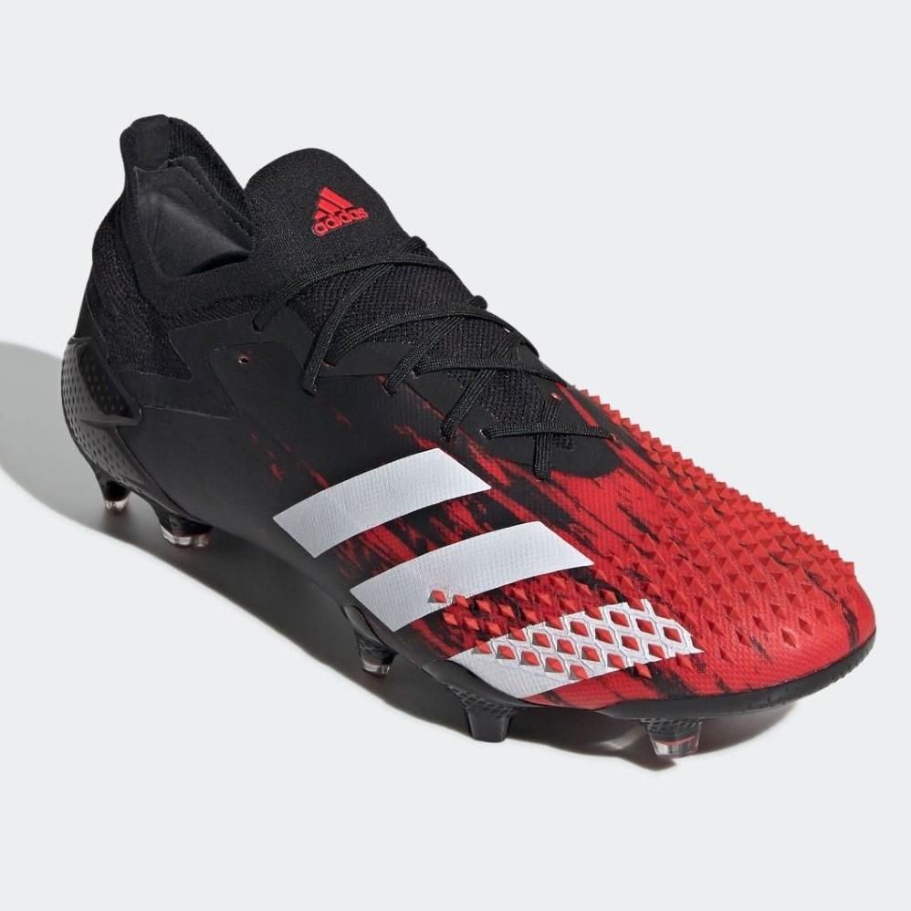 アディダス(adidas) サッカースパイク プレデター 20.1 L FG (20ss) コアブラック/フットウェアホワイト/アクティブレッド EF2206【P10】